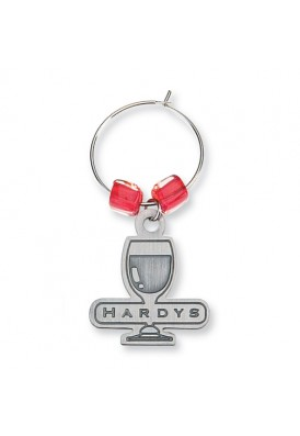 Custom Shape Wine Charms Metal Etch (no color)