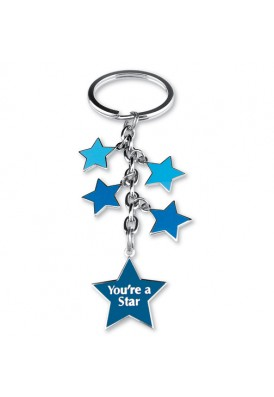 Star Charmed Dangle Key Chain