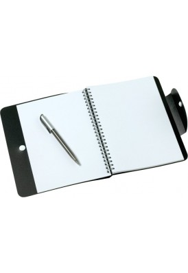Colored Poly Wrapped Spiral Notebook 8.5x6.75