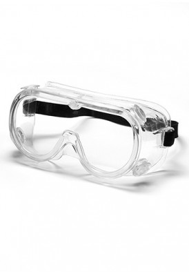 Protective Clear Goggles with Adjustable Headband