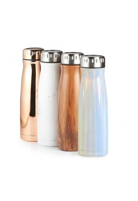 17 Oz Trendy Designer Stainless Steel Copper Lined Vacuum Insulated Bottle