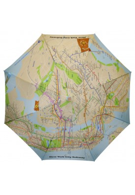 NYC Subway Map Umbrella