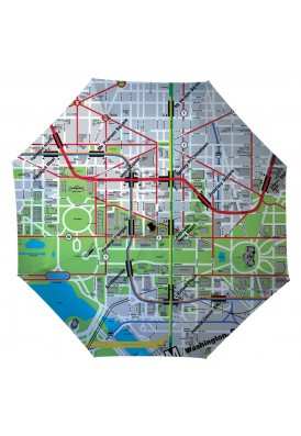 DC Metro Map Umbrella