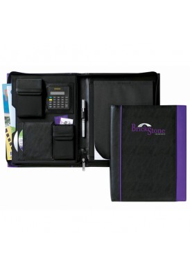 Excel Vinyl Full Size Portfolio with Zipper