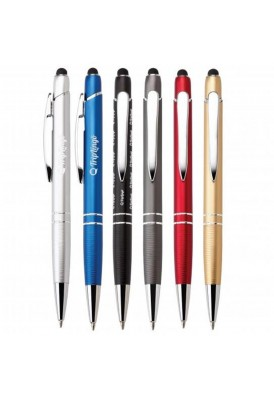 Metallic Colored Angellica Stylus Ballpoint Pen