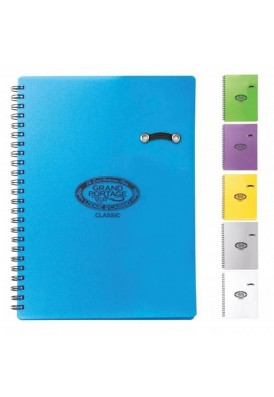 Candy Color Bright Spiral Notebook