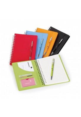 Fair Play 6 x 9 Hard Cover Spiral Journal and Pen Combo