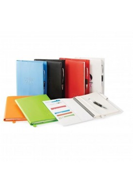 Melody Refillable Size Medium Notebook Portfolio