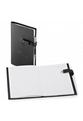 Leatherette Portfolio Combo with 1GB Flash Drive