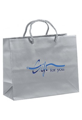 Premium Weight Matte Retail Shopper Tote Horizontal 10 Wide