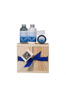 All Natural Mini 3 Piece Spa Relaxation Gift Box