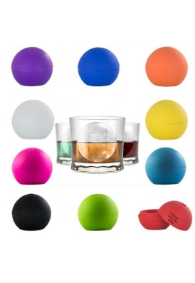 Silicone Ice Ball Mold for Cocktails and Whiskey