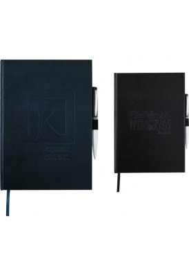 Leatherette Executive Bound 10x7 Notebook Journal