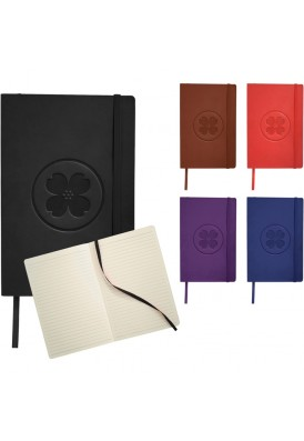 Soft Flexible Leatherette Cover 5.5x8 Journal
