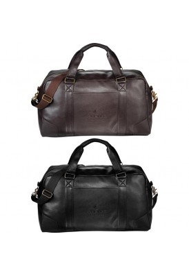 Executive Premium Leatherette Oxford Weekend Duffel Bag