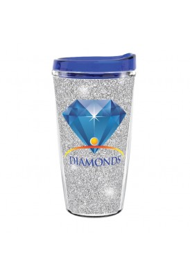 16 Oz Bling Double Wall Insulated Acrylic Tumbler
