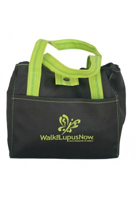 Polypro Color Accented Lunch Tote