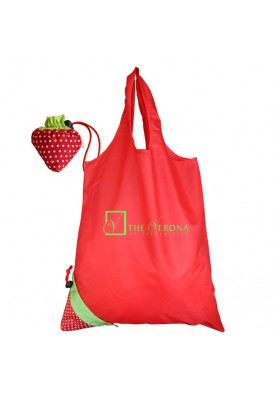 Strawberry Foldable Tote