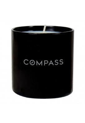 Custom Black Glossy Candle Glass 10 Oz in Gift Box - PMOD (PREMIUM MODERN)