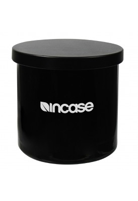 10 Oz Black Glass Candle with Matching Lid and Box - PMOD (PREMIUM MODERN)