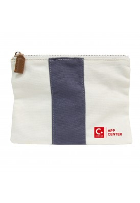 Carter Canvas Modern Pouch