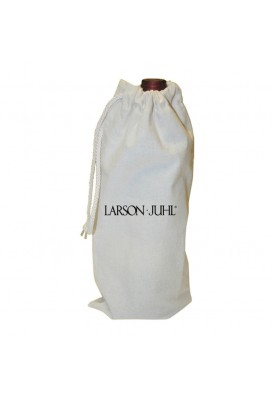 Cotton Canvas Wine Bottle Tote