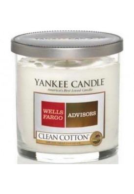 7 Oz Personalized Yankee Candle with Silver Lid - QUL (Quality)