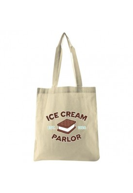 6 Oz Lightweight Natural Color Cotton Tote