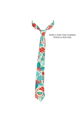 Full Color Allover Imprinted Tie