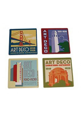 Single Full Color Coasters Square