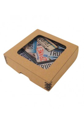 Box of Full Color Coasters, Set of 4
