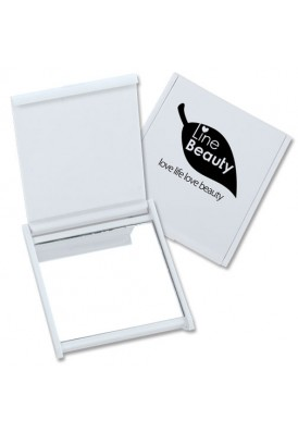 Standard Square Mirror, Full Color Logo