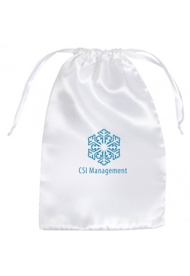 Large 6x9 Satin Drawstring Pouch