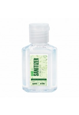 2 Oz Hand Sanitizer Gel  Bottle 75% Alcohol