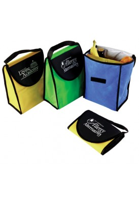 Foldable PolyPro Nonwoven Lunch Tote