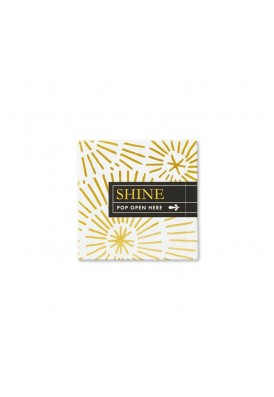 Shine Thoughtful Pop-Up Message Gift Set