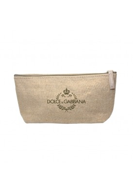 All Natural Jute Zippered Cosmetics Bag