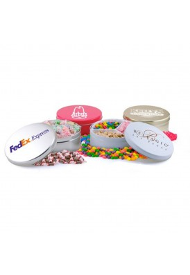Medium 7 Inch Diameter Candy Tins