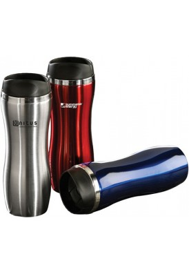 Sleek Ergo Curved Stainless Steel Tumbler