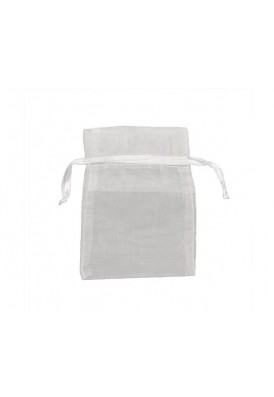 5 Inch Wide Organza Pouch (No Imprint)