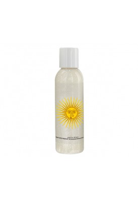 Shimmery Lotion 4 Oz Clear Bottle with SPF 30