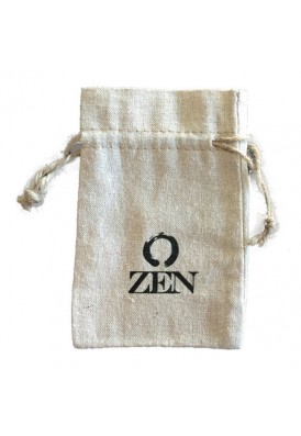 8x10 Natural Linen Drawstring Pouch Imprinted