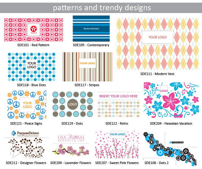 Patterns and Trendy Designs